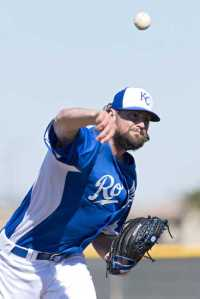 Luke Hochevar's future with the Royals will be in the bullpen.